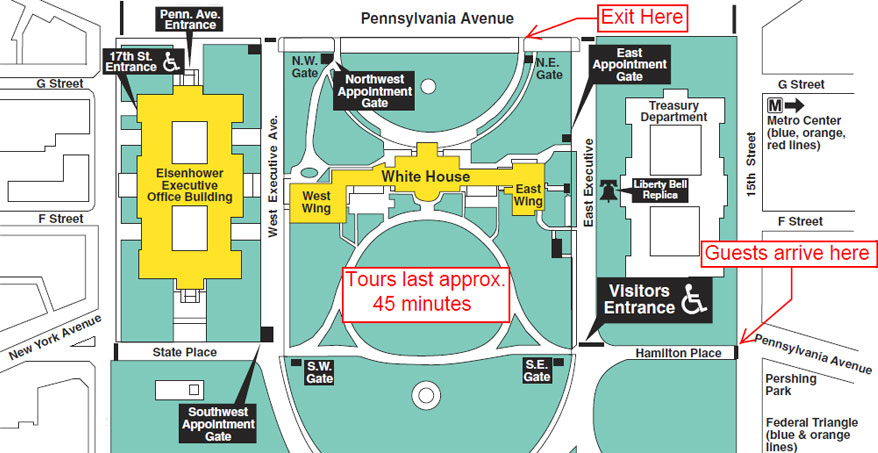 White House Tours 2018 Tickets Maps And Photos