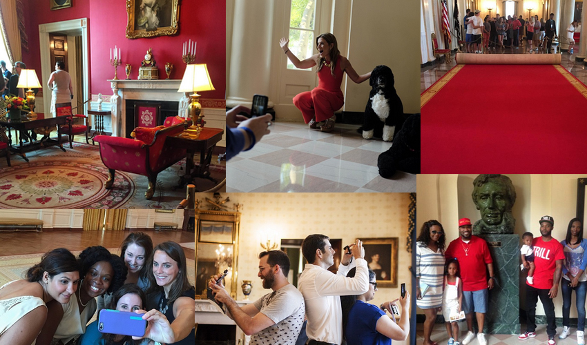 Tour Of The White House Living Quarters